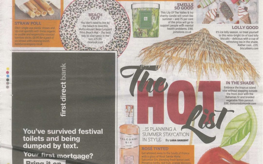 In The Press: The Metro – The Hot List